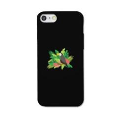 [봉봉] toucan flower 블랙 S3140O 슬라이더 케이스_(2174274)