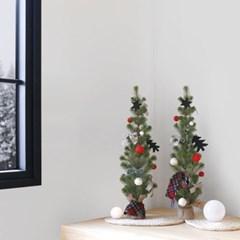 크리스마스 패턴 레드리본(1M)