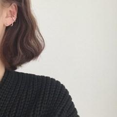 [이어커프 귀걸이] 매트커프 이어링
