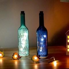 코에 와인병 LED 무드등 보틀라이트 2종 - 네이비/민트_(1288650)