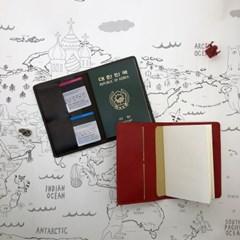 가죽 여권케이스