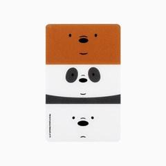 위 베어 베어스 카드거울 (곰 브라더스)