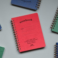 [Life] Pocket note A6 (3 colors)