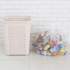모던데일 분리수거함 비닐봉투 80L(100매)