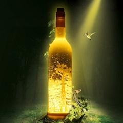 [adico] 와인 워터볼 LED Light - 사슴_(973177)
