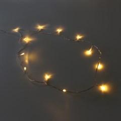 크리스마스 기본 LED전구(12구-건전지형)