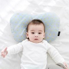 코니테일 아기 짱구베개 - 핑크체리(유아 신생아베개 이탈방지)