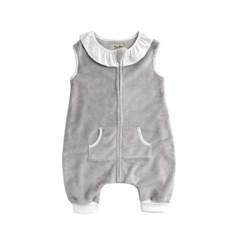 [극세사]그레이프릴 극세사수면조끼 유아수면조끼 아동수면조끼
