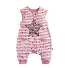 스탈라잇(핑크)슬립색 유아수면조끼 아동수면조끼