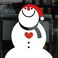 크리스마스시트지_러블리 스노우맨02_(860946)