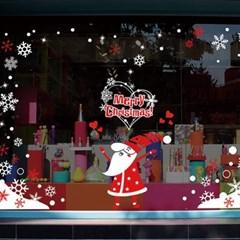 크리스마스시트지_사랑의 마법산타_(860943)