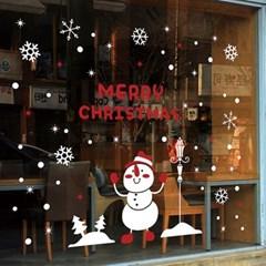 크리스마스시트지_눈사람과 가로등_(860929)