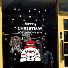 크리스마스시트지_헬로 곰돌이(소형)_(860920)