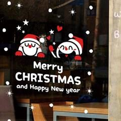 크리스마스시트지_헬로 귀여운 눈사람친구들(소형)_(860918)