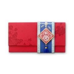 035-ME-0052 / 붉은빛 고운 축하봉투