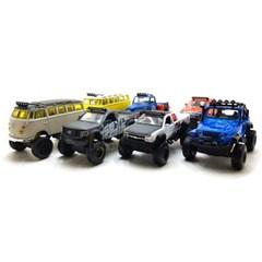마이스토 4X4 레벨스 쉐보레 트럭 - 화이트