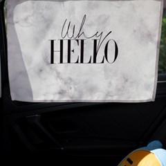헬로우마블 차량용 햇빛가리개/다용도가리개커튼