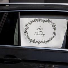 올리브데이 차량용 햇빛가리개/다용도가리개커튼
