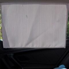 스트라이프 차량용 햇빛가리개/다용도가리개커튼