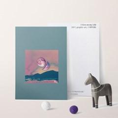 [INVSBL] Art postcard NO.2