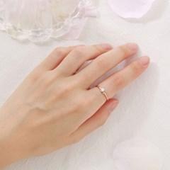 펄 큐빅 반지
