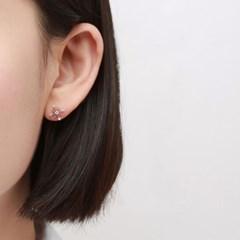 블링 눈꽃 귀걸이