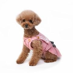 Sailor corduroy dress (pink)