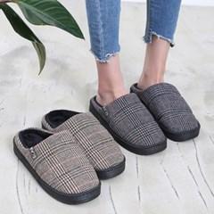 kami et muse Check pattern fancy slippers _KM18w222
