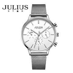 쥴리어스스타 JS005 여성 패션 메쉬밴드 손목시계 크로노그래프
