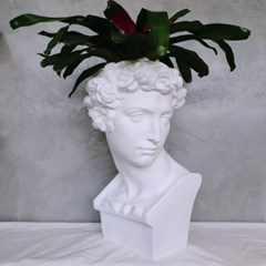 대형 석고상 화분 모음 65cm내외 리본2개 꽃병 개업