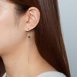 블루포인트 진주 귀걸이