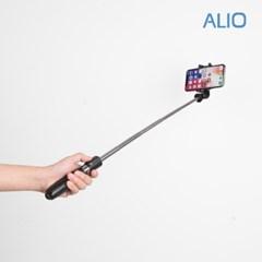 알리오 블루투스 삼각대 셀카봉 ALU-BS100_(1269121)