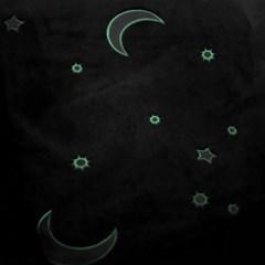 네온문 야광 극세사 블랑킷