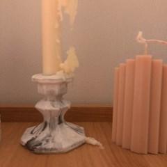 촛대 석고방향제