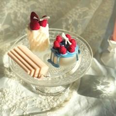 산딸기 케이크 캔들