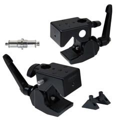 본젠 KM-191G 2X 더블 슈퍼 클램프 (카메라 조명 오토폴 촬영장비)