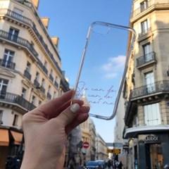 파리지앵 이니셜 젤리케이스