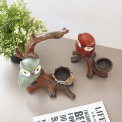 나무위 부엉이 캔들홀더(2type)_(1422563)