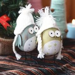 꼬깔 달걀 부엉이(2color)_(1422562)