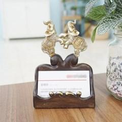 커플 코끼리 명함꽂이_(1422478)