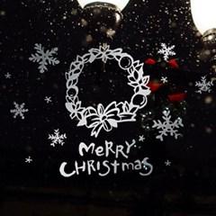 1AM 크리스마스 리스 스티커 Merry christmas_(1244789)