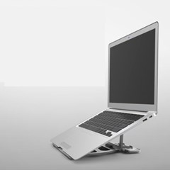 비프렌드 알루미늄 노트북 거치대 W001