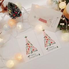 [텐텐클래스] (동대문) 손그림 일러스트 크리스마스 카드 만들기