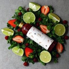 라즈베리 딸기 모히또 시럽