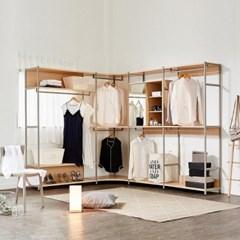 브루더 드레스룸 ㄱ자 2000 스탠다드