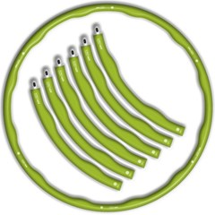 [비핏] 앱 폼 훌라후프 초급용 1.2kg