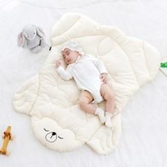 코니테일 아기 이불패드 S - 나뭇잎(유아 신생아패드)