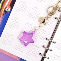 KEY RING_TWINKLE STAR
