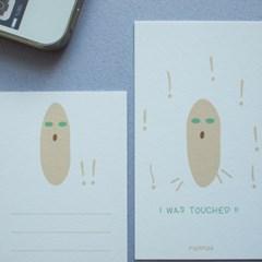 무아무아 미니 메세지 카드