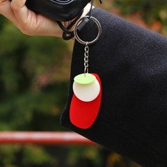 사과 키링 APPLE KEY RING